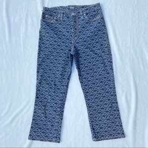 Dolce & Gabbana Logo Straight Leg Jeans Medium